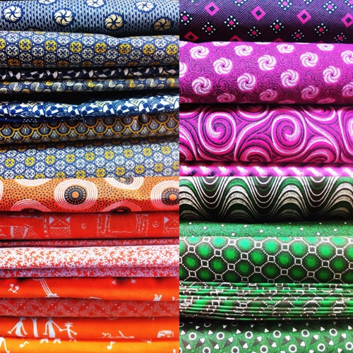 great range of shwe shwe fabric!