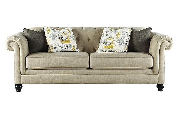 The Hindell Park Putty Sofa From Ashley Furniture Homestore The Timeless Beauty Of