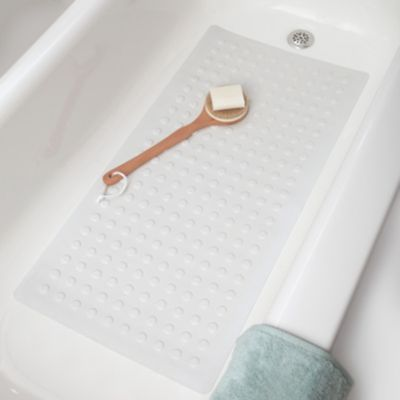 Large 18 Quot X 36 Quot Rubber Safety Bath Mat With Microban