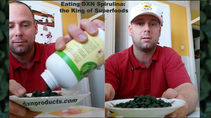 Eating DXN Spirulina, the King of Superfoods
