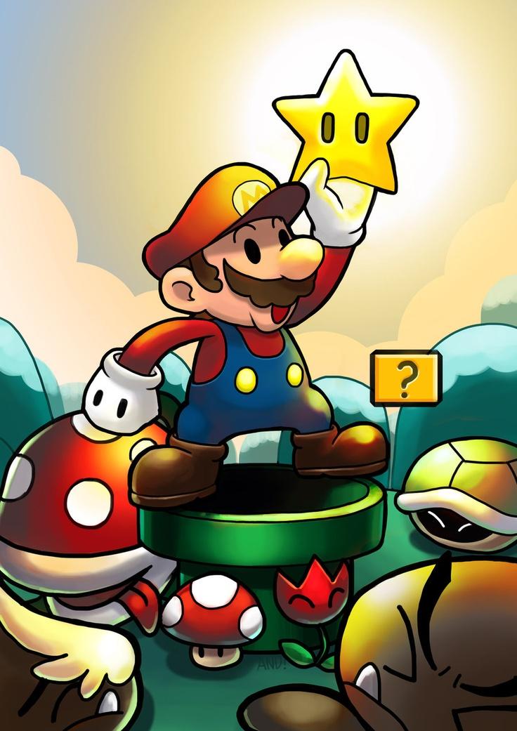 Super Mario by ~fenrir2512 on deviantART