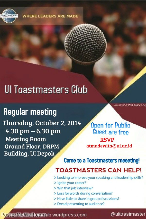 39 best images about ui toastmasters club publication on