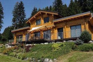 Photo: Maison en bois d'Ikihirsi – maison écologique et économe