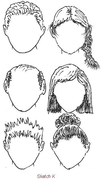 how to draw faces.