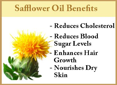 Safflower Oil Benefits: The active ingredient in CLA (100%) Safflower oil.  Used at hibachi restaurants