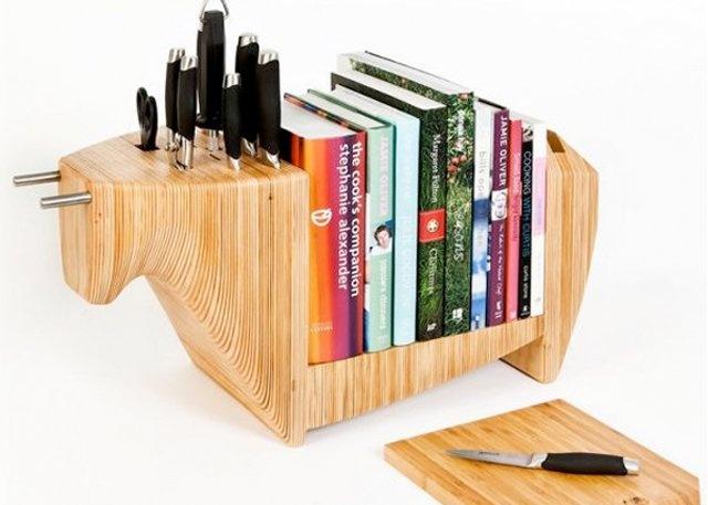 Handig voor in de keuken. Jouw favoriete kookboeken direct bij de hand!