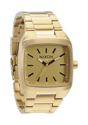 The Manual II in All Gold - I want you!Manual Ii, Nixon Manual, Manual Gold, Ii Watches, Nixon Watches, Manual Watches, Gold Watches, Stainless Steel, Men Watches