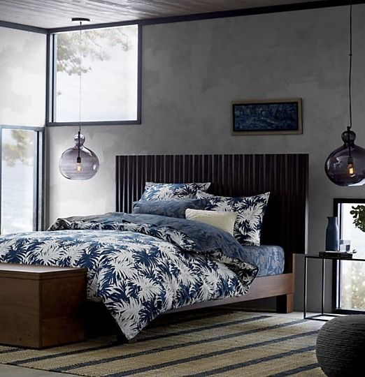 lift the hinged lid of the storage bench at the recessed panel to stash linens and clothes in entryway or bedroom - Recessed Panel Bedroom 2015
