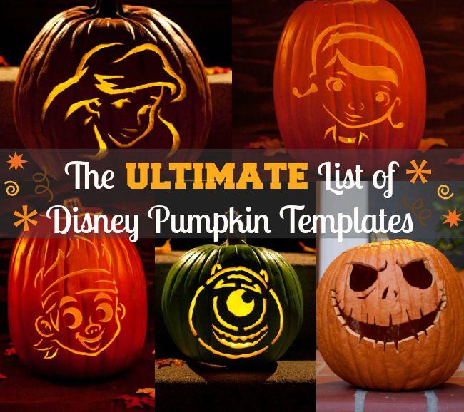 Free Disney Pumpkin Carving Templates http://www.mommymusings.com/disney-pumpkin-carving-templates/