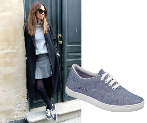 Meia-calça + Barth Shoes = <3