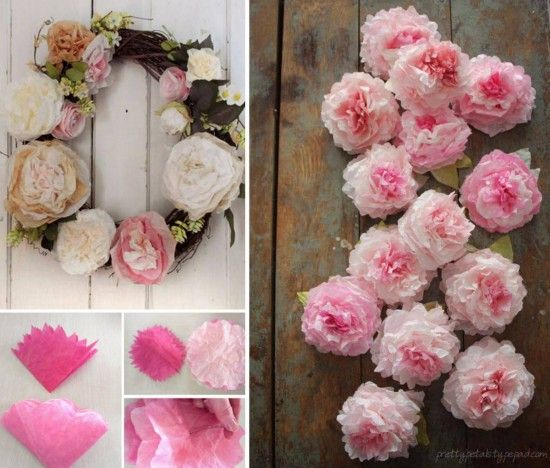 Peony Coffee Filter Flowers The WHOot