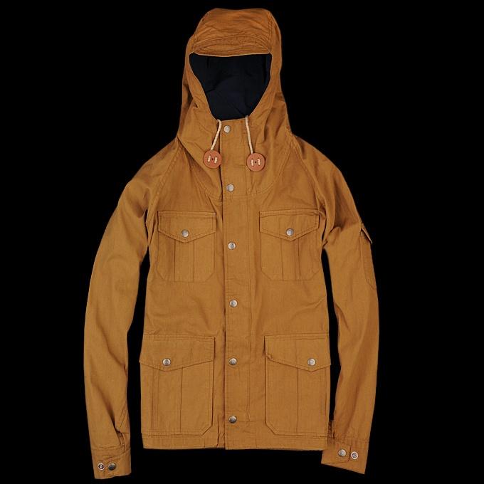 Loy Homme Wood Largewood Jacket Dark Orange Blouson rZEn8Pra