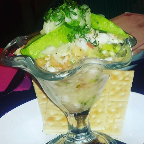¿Y si hoy cenamos un ceviche? Delicioso y saludable :) #food #foodporn #healthy #mexicano #Madrid #restaurantesMadrid #delicioso #yummy #recomendacion #igmadrid  #ig_madrid_city