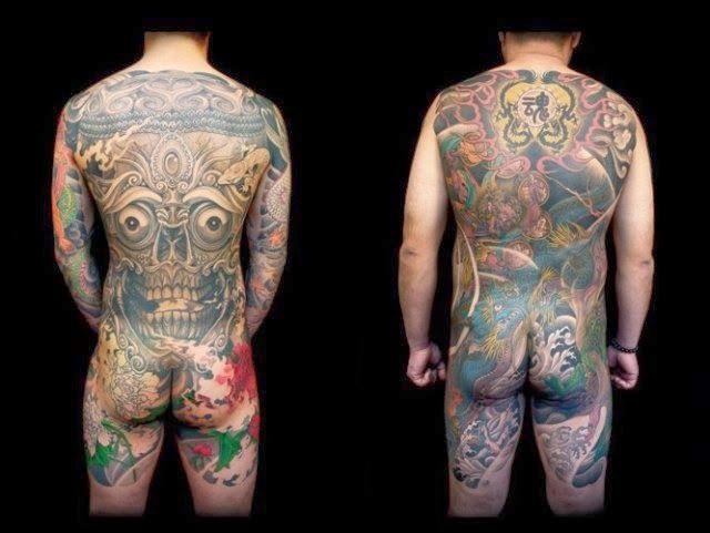 Вожди: Татуировки якудза