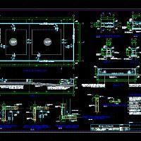 Piscina (dwg - Dibujo de Autocad) - Detalles Constructivos