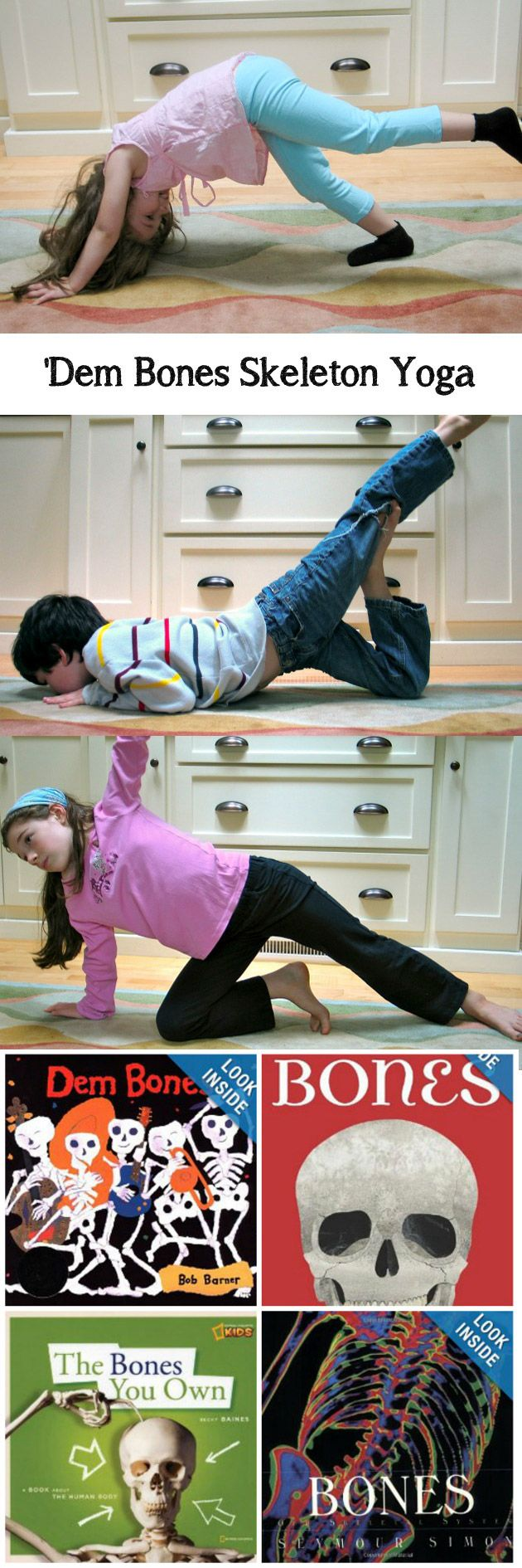 A great yoga sequence for the little ones in our lives who are getting geared up for Halloween!
