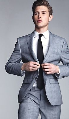 25  best ideas about Fitted suits on Pinterest | Mens style guide ...