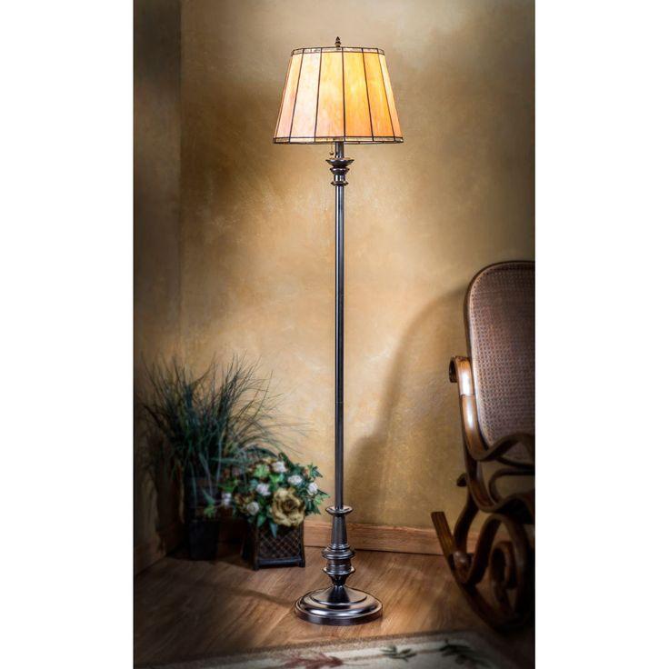 J Devlin Floor Lamp 668 Stained Glass