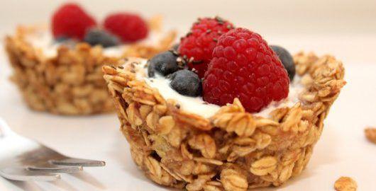 Haferflocken-Cupcakes - eine gesunde Alternative