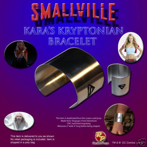 SMALLVILLE Kara's Kryptonian bracelet Replica Prop