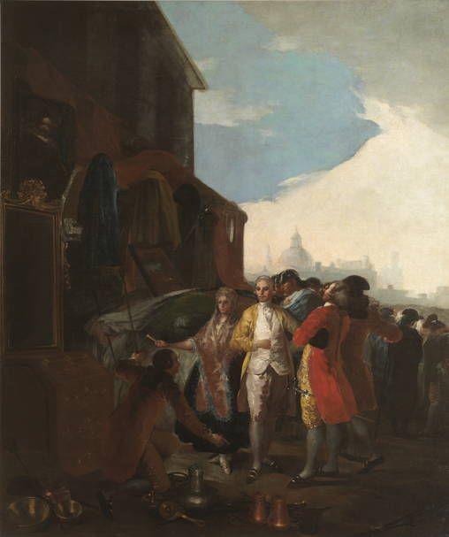 Goya en El Prado: La feria de Madrid