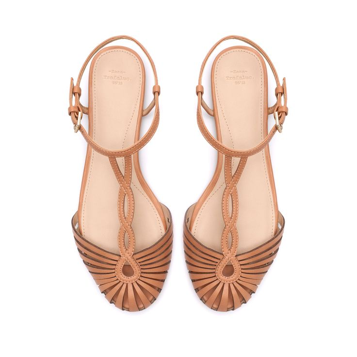 SANDAL WITH ANKLE STRAP - Shoes - TRF | ZARA Singapore