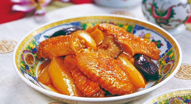 鶏手羽先と大根の中華煮込みレシピ