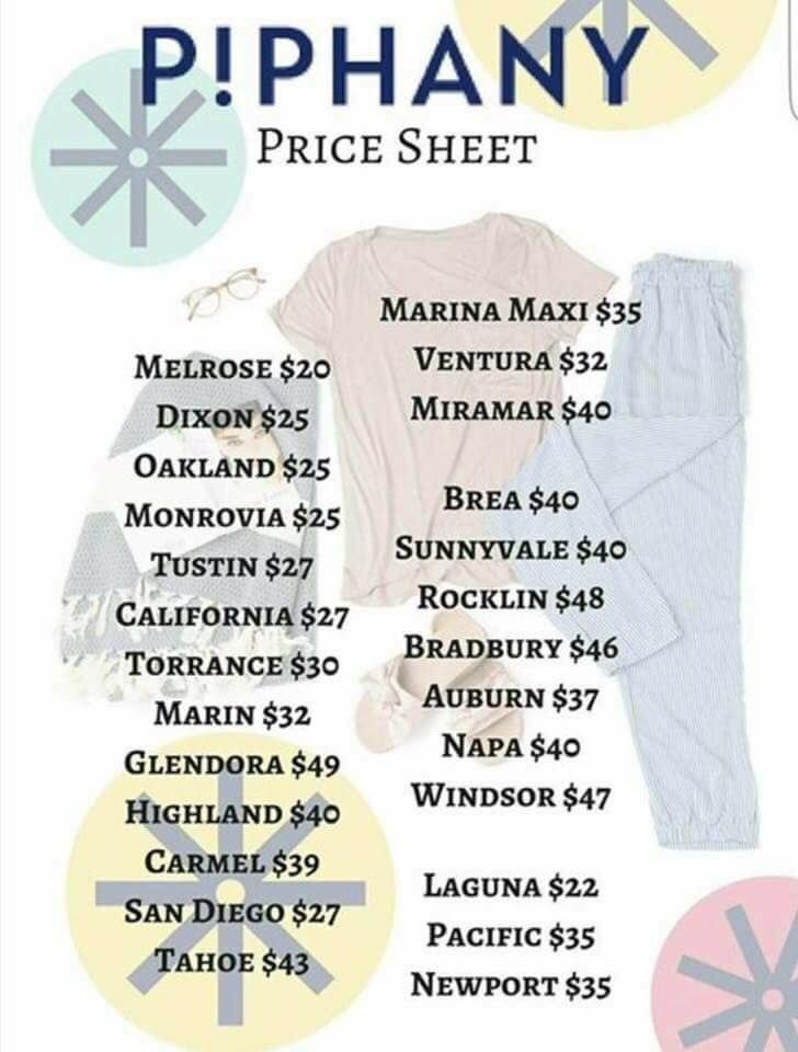 Pin By Kaitlyn Stegmeyer On Piphany In 2019 Price Chart Honey