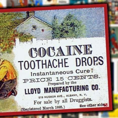 20 Shocking Vintage Ads For Now Illegal Drugs