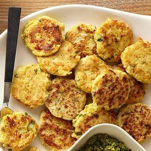 Cauliflower-Rice Cakes - need to try!!