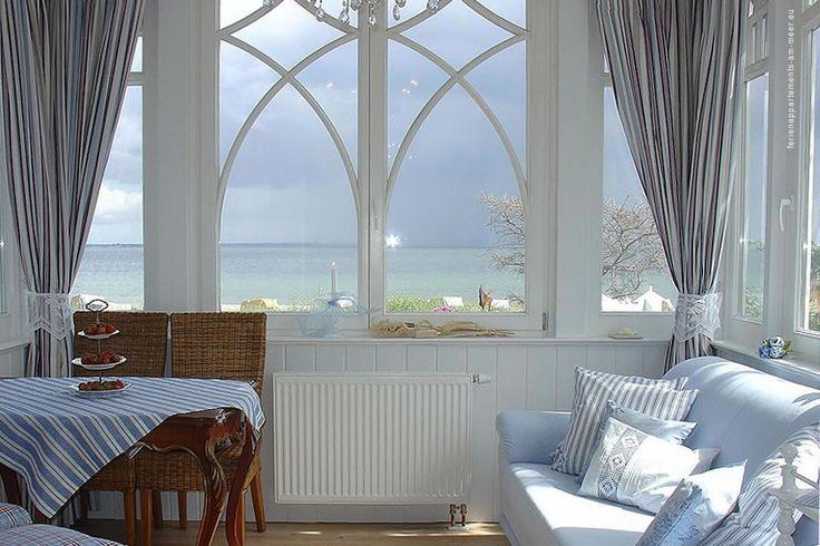 Ferienappartements mit Meerblick. Villa Hansa in Timmendorfer Strand.