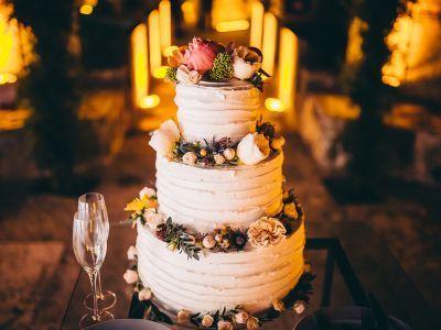 Bolos de casamento com cobertura Butter Cream: simples, delicados e… deliciosos!