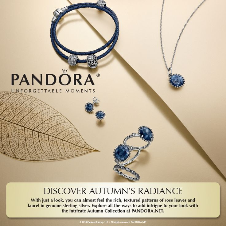 Shop Pandora's new autumn collection today at Clock Tower Gifts and Boutique!
