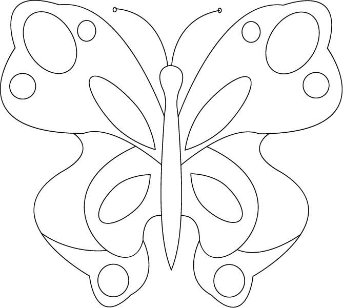 Best ColoringInsects Images On   Butterflies