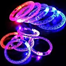 Vilkkuva väriä vaihtava LED-rannekoru