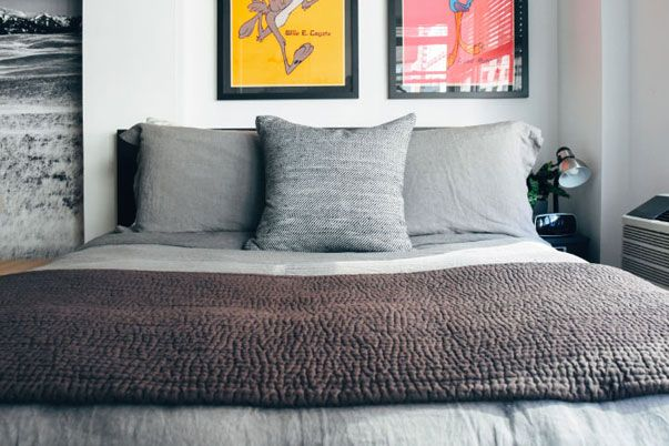 How to Style a Masculine Bed