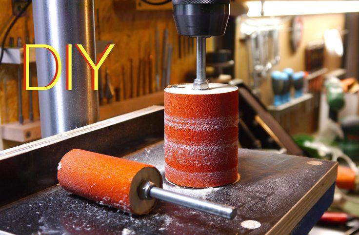 Schleifaufsatz Standbohrmaschine / Sanding Spindles for Drill Press