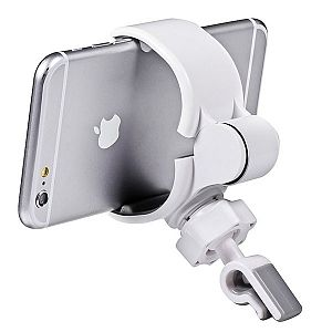 Car Air Vent Mount Holder Cradle for iPhone 6 Plus 6 5S 5 5C Samsung S6 Edge S5 S4 S3 Note 4 3 LG Google Nexus 6 5 4 HTC One M9 8 7 Tablets - Gray