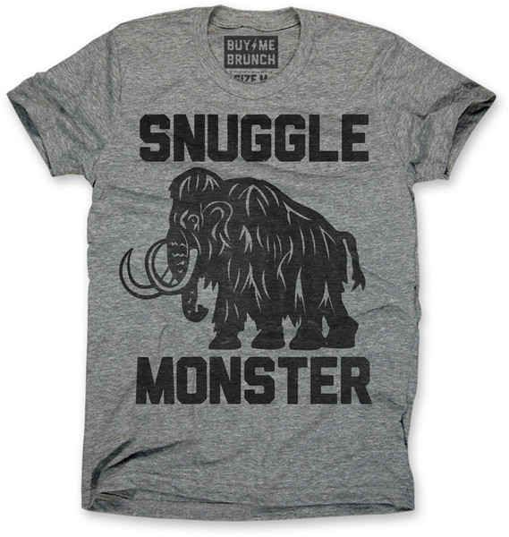 """Buy Me Brunch """"Snuggle Monster"""" Tee, $24 