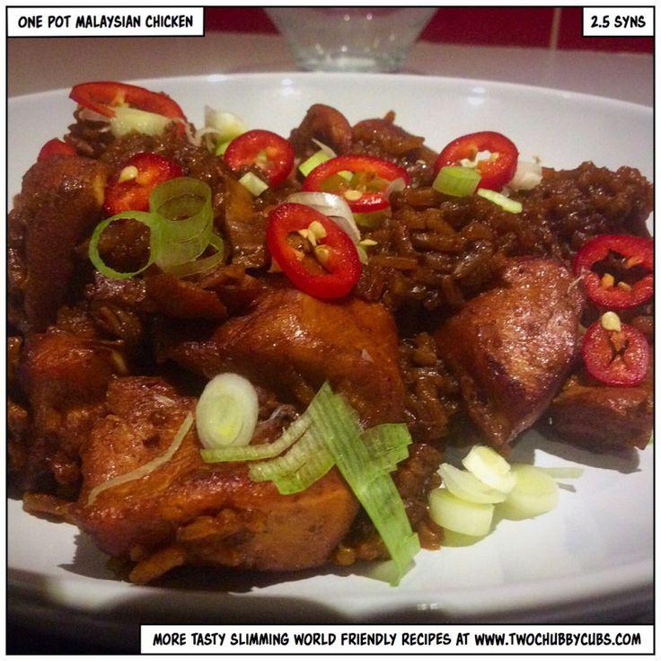Slimming World recipe one pot malaysian chicken
