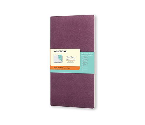 "Moleskine Chapters Journal (Ruled) - Moleskine United States >>> These are so helpful when you're working on multiple writing projects in various stages of development. You can put to-do lists within each section. Also a great place to jot ideas and ""what if?"" possibilities, to rework plots and characterizations."
