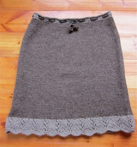 Free Knit Skirt Pattern : 10+ ideas about Skirt Knitting Pattern on Pinterest Knitted skirt, Cable kn...