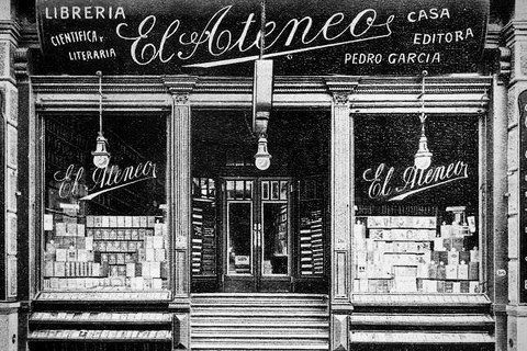 foto antigua de la libreria El Ateneo  Buenos Aires, Argentina