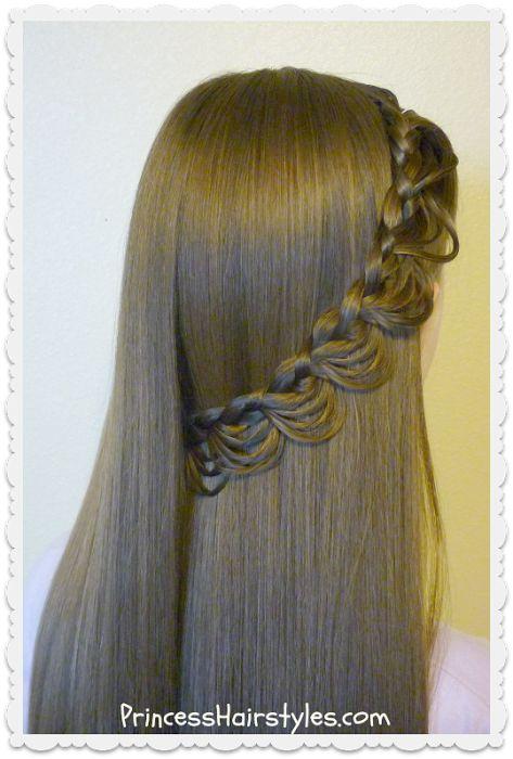 Magnificent 1000 Ideas About Princess Hairstyles On Pinterest Girl Hair Short Hairstyles Gunalazisus