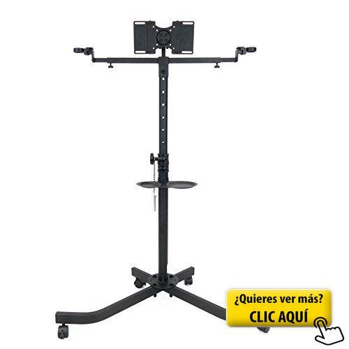 Cablematic OU46 - Soporte de TV de pie con ruedas... #soporte #televisor