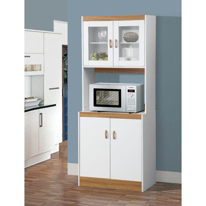 Aaronsburg 72 Kitchen Pantry Microwave Cart Kitchen Pantry Furniture