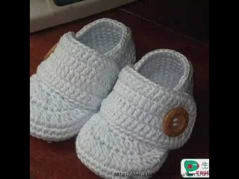 CROCHET BABY WHITE SHOES -STEP BY STEP