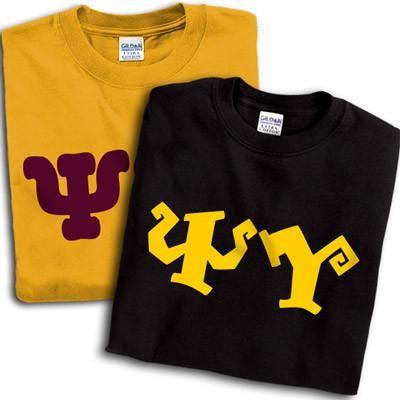 Psi Upsilon 2 T-Shirt Pack - Printed - Gildan 5000 - CAD