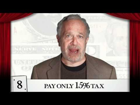 How Did Mitt Romney Get So Obscenely Rich?  Robert Reich Explains that Romney is a financier -- NOT a businessman who builds a company.