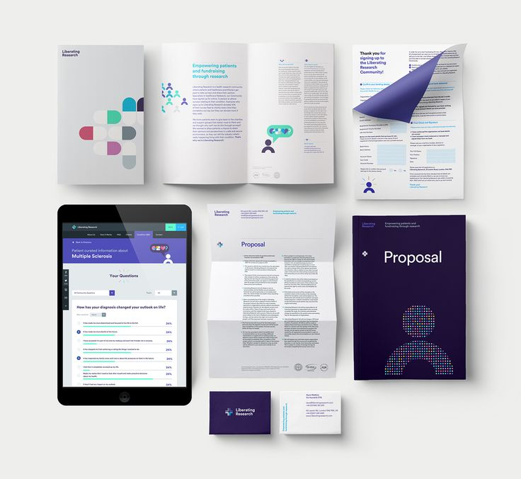 Liberating Research — Brand Identity on Behance